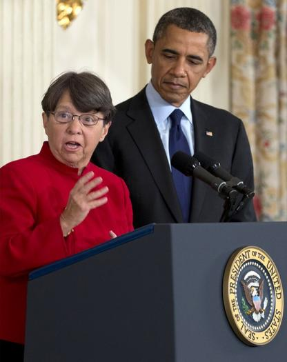 Mary Jo White is nominated by President Obama as SEC chief