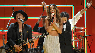 Grammy 2013 Bob Marley tribute: A mission to (Bruno) Mars