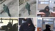"The FBI says it suspects a Chase bank branch robbed this morning in west suburban Berwyn was hit by the ""Bully Bandit"" who is believed responsible for seven other bank robberies since last November."