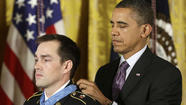 Former Californian gets Medal of Honor for valor in Afghanistan