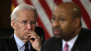 Biden says laws needed to curb gun violence