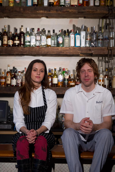 Pastry chef Amanda Rockman (left, shown with Peter Becker, Balena's baker) says she is leaving her jobs at Balena and The Bristol in two weeks.