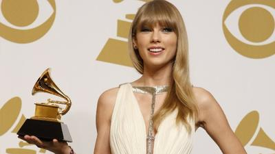 Grammys 2013: A 'Hunger Games' Grammy win as Katniss looks to Oscar