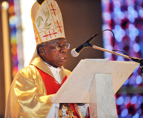 Francis Arinze of Nigeria was considered a strong possibility to succeed Pope John Paul II in 2005 and has emerged again in the speculation over who will follow Benedict XVI. A former prefect of the Congregation for Divine Worship and Discipline of the Sacraments, he served as a key advisor to John Paul and succeeded Benedict as cardinal bishop of Velletri-Segni in 2005. Arinze became the youngest bishop in the world in 1965 when he was ordained and assigned to prepare to become archbishop of Onitsha, a post he assumed two years later. Now 80, Arinze may be considered too old to head the Vatican, especially in the wake of Benedict's short tenure.