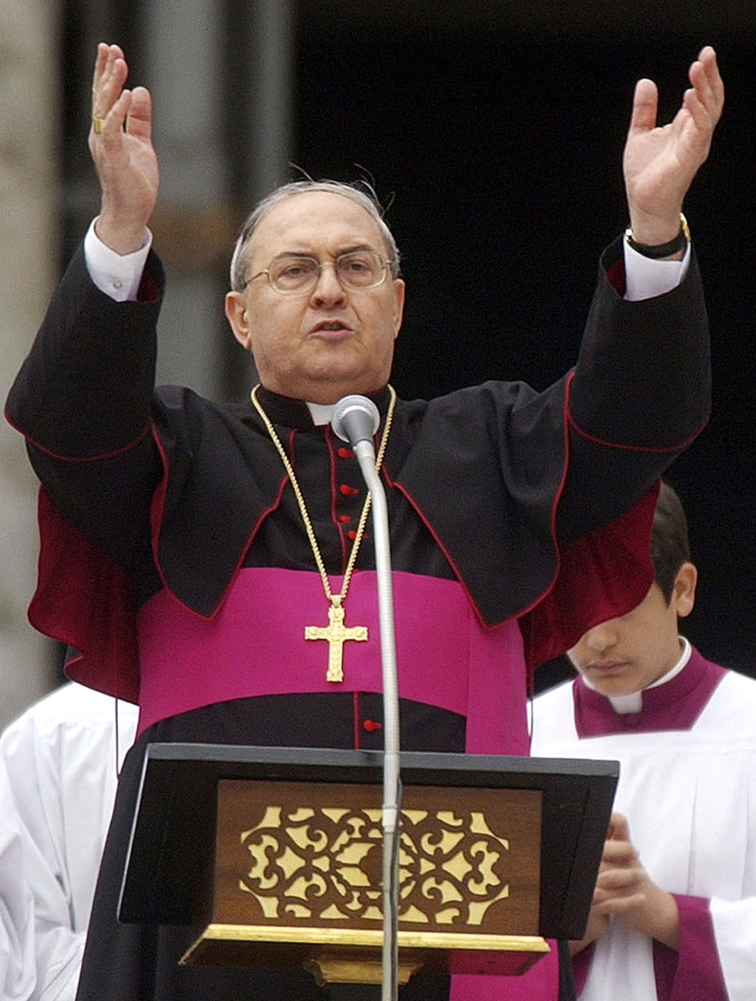 The cardinals who might be pope - Cardinal Leonardo Sandri
