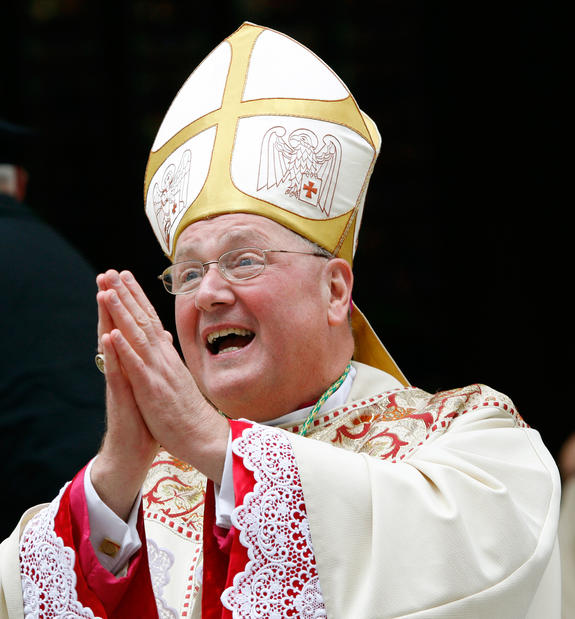 Timothy Dolan, 62, is the archbishop of New York.