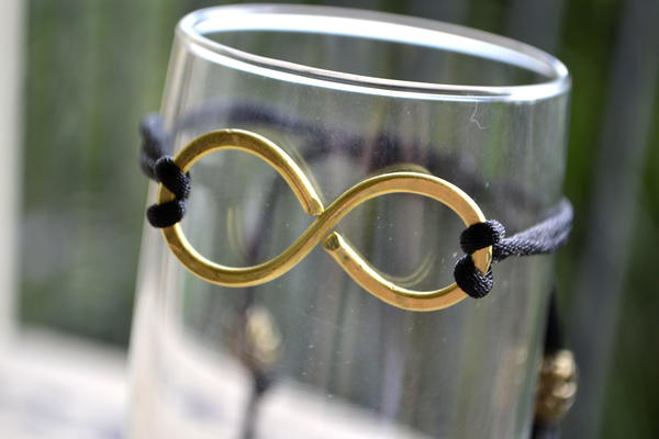 "$7.50 Unisex ""Infinity"" bracelets from Boynton Beach jewelery designer Creations By Jerilyn. Go to CreationsByJerilyn.com"