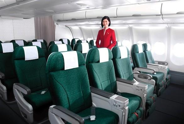 Premium economy-class seats from L.A. to four cities in India are on sale at Cathay Pacific Airways.