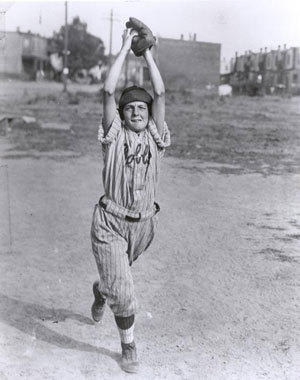 Edith Houghton in her playing days.