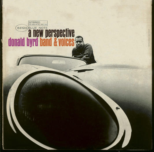 Jazz trumpeter Donald Byrd shown in one of his album covers