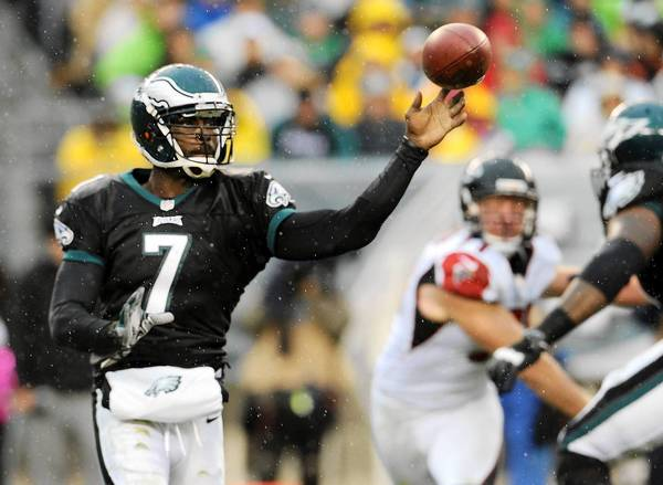 Eagles quarterback Michael Vick will compete with Nick Foles for the starting QB job.