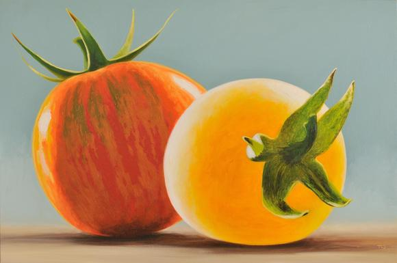 Art meets tomato: Vegetable portraits by Timothy Sellers