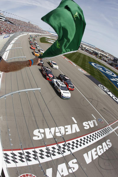 Drivers get the green flag at the 2012 Sam's Town 300 NASCAR race. The races and events surrounding them are March 6-10 this year.