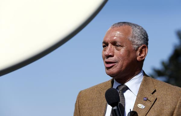 NASA Administrator Charles Bolden talks about the successful launch of the United Launch Alliance Atlas V rocket.