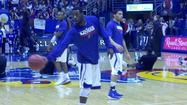 "<span style=""font-size: small;"">Ben McLemore scored 30 points and Jeff Withey added 17 as the 14th ranked Kansas Jayhawks ( 20-4, 8-3) beat 10th ranked Kansas State (19-5, 8-3) 83-62 on Monday night.</span>"