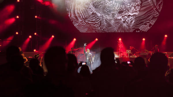 Usher kicks off his 2013 tour at Moon Palace Golf & Spa Resort in Cancun, Mexico.