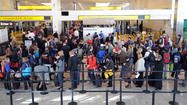 For the third consecutive year, BWI Marshall Airport set a record for commercial passenger traffic, with 22.68 million travelers passing through its terminal in 2012, airport officials announced.
