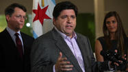 J.B. Pritzker, the billionaire venture capitalist whose family founded the Hyatt hotel chain, called on corporations to work more closely with startups and become more familiar with the city's growing technology sector.