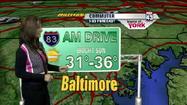 VIDEO Tuesday's commuter weather forecast