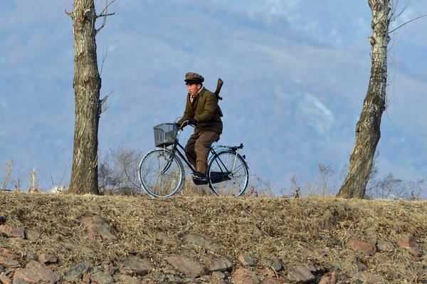 North Korea tests nuclear device - Bike patrol