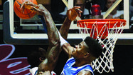 LEXINGTON — Anthony Davis set a Kentucky single season record for blocked shots last year when he led the nation in blocks and helped UK win the national title. However, this year freshman Nerlens Noel has 103 blocks and leads the nation with 4.48 per game — and UK leads the nation with 7.7 blocks per game.