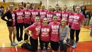 The St. Charles North Varsity Drill Team took home high honors at the Batavia High School Team Dance Illinois invitational competition on February 10, 2013. The girls competed in the AAA Division where they earned three first-place trophies for their open pom, open dance and lyrical dance categories. The varsity team is coached by Nancy Franson-Prentiss.