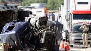 Who's to blame in truck-vs.-car crashes? Usually cars, report says