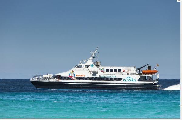Balearia Bahamas Maverick fast-ferry