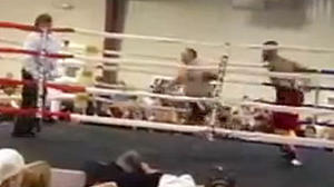 Watch former NFL player Ray Edwards get easiest knockout ever