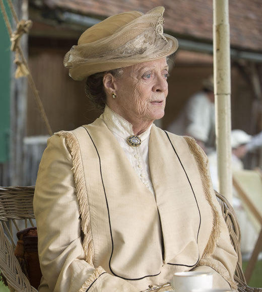 'Downton Abbey': Lady Violet, the Dowager Countess' notable quotables: Lady Violet: My husband was a great traveler, so Ive spent many happy evenings without understanding a word. The thing is to keep smiling, and never look as if you disapprove.