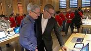 Apple CEO on stores' biggest problem: They're not 'big enough'