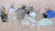 FT. MEADE, Md. -- Top officials at the terror detainee prison at the U.S. Naval Base on Guantanamo Bay, Cuba, began testifying in a pretrial hearing Tuesday about courtroom security and allegations that the CIA or other U.S. intelligence officials are secretly listening to private conversations between defense lawyers and five accused Sept. 11 plotters.