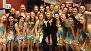 "The ""Leading Ladies"" Show Choir from Rolling Meadows High School had the opportunity of a lifetime on Saturday, Feb. 9, when they performed for Emmy-Award winning actress Jane Lynch at the 24th Annual Chicago Film Critics Association Awards Show. The event took place at Muvico Theaters in Rosemont."