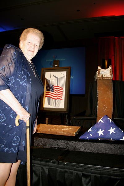 Arlene Howard, the mother of an officer who was killed on 9/11, at the Building to Remember Gala on Sunday night.