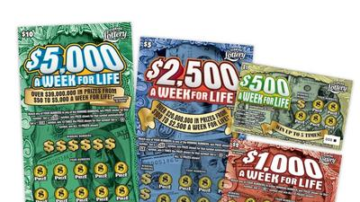 Lottery sets scratch-off record for a week