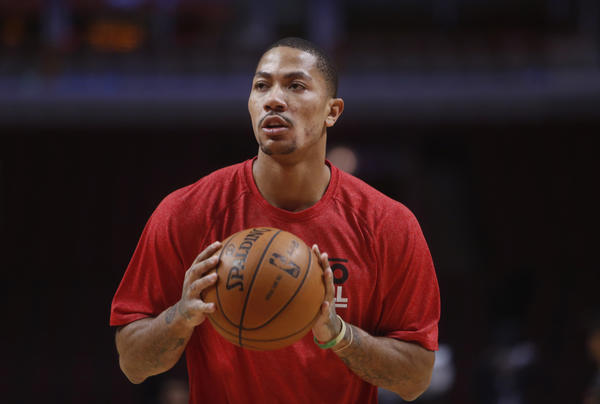 "Bulls guard Derrick Rose told USA Today on Monday that he's not coming back until he's ""110 percent."""