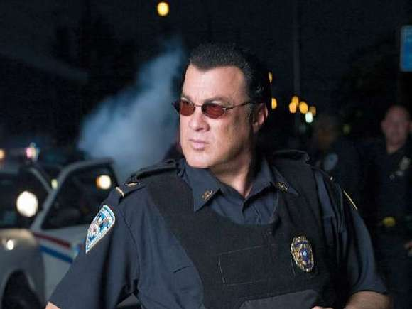 Actor Steven Seagal