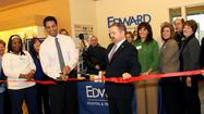 Led by Mayor John Noak, the Village of Romeoville officially welcomed the Edward Walk-In Clinic to the Romeoville business community with a ribbon cutting on Wednesday, January 30.  The Walk-In Clinic, located in the JEWEL-OSCO pharmacy at 20 S. Weber Rd., officially opened last November.