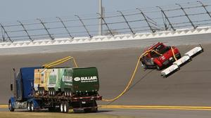 NASCAR unveils new track drying system