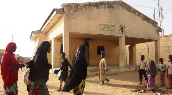 Clinic where polio workers were killed