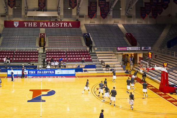 The Palestra in Philadelphia where the Penn Quakers play basketball.