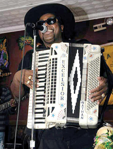 Nathan and the Zydeco Cha Chas will perform at 7:30 p.m. Friday, Feb. 15, at Wilson College¿s Laird Hall, 1015 Philadelphia Ave., Chambersburg, Pa.