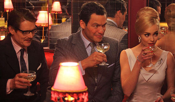 "From left, Julian Rhind-Tutt, Dominic West and Hannah Tointon in ""The Hour."""