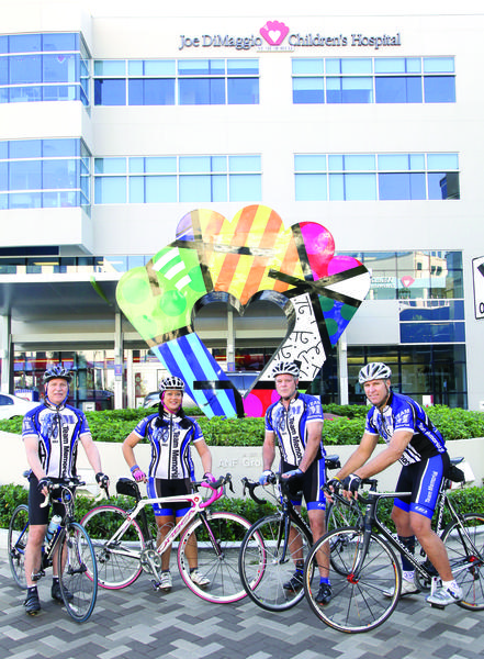 "Memorial Healthcare System's ""Tour de Broward,"" benefiting the Cardiac Center at Joe DiMaggio Children's Hospital, will start 7 a.m. Feb. 24 at Miramar Regional Park. Photo by Kara Starzyk"