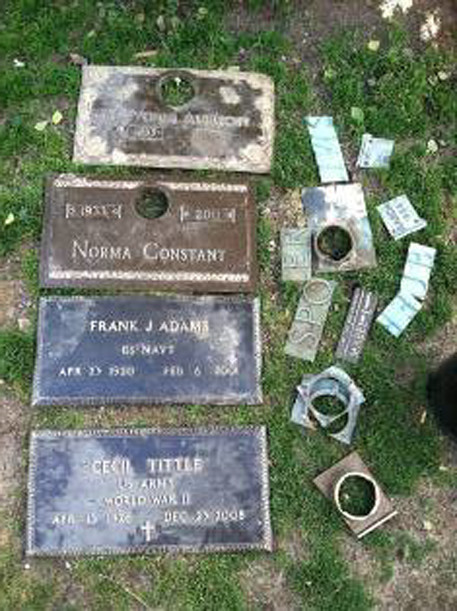 pasadena man charged in theft of glen burnie cemetery markers
