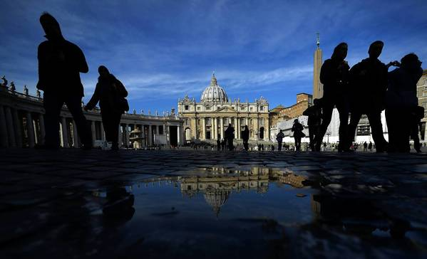 St. Peter's Square at the Vatican. The Roman Catholic Church has entered uncharted waters with Pope Benedict XVI's announcement that he will resign at the end of February. For one thing, he'll be living just steps away from the new pope.