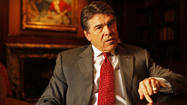 Texas group mocks Rick Perry's California trip