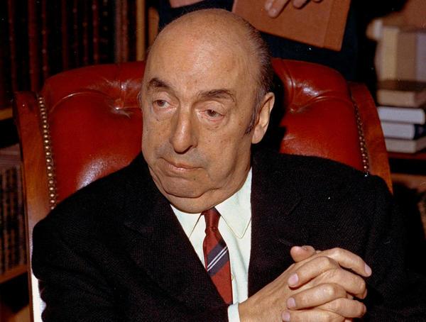 Poet Pablo Neruda in 1971.