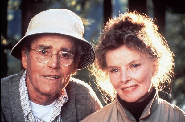 Henry Fonda (left) and Katharine Hepburn played a retired couple who loved loons in 'On Golden Pond,' and the plight of loons was in the news this week in the Lehigh Valley.