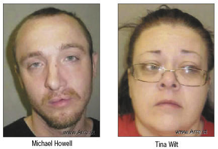 Michael Howell and Tina Wilt